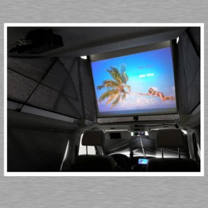 Mac mini Car PC - Kino Erlebnis auf der Rückbank