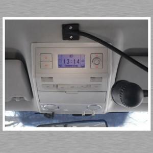 Mac mini Car PC - Alpine Audioprozessor - eingeklappt