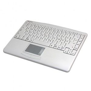 Mac mini Media Center - Keysonic ACK-540 MAC - Funktastatur mit integriertem Trackpad