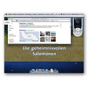 Mac mini Media Center - Fernsehen und parallel dazu googeln