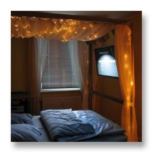 Mac mini Media Center - ... und im Schlafzimmer zu ende sehen