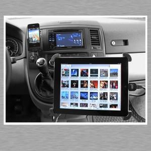 iPhone, iPad und Pioneer AVH 3300 BT in einem VW California