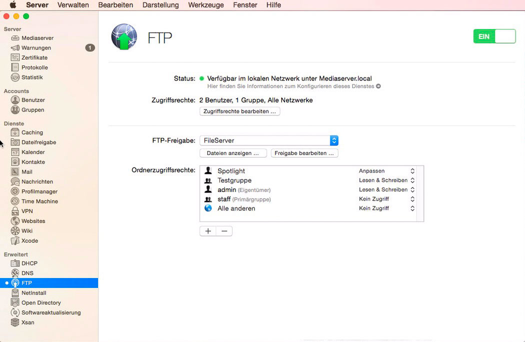 Apple FTP Server