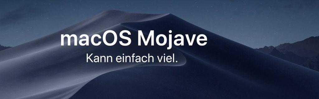 Mac OSX 10.14 - Mojave - Apple Support Hamburg - System Support